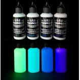 4 x 50ml Set Complet couleurs phosphorescentes