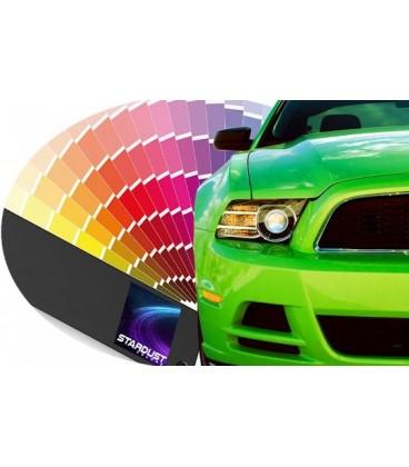 Tinta automotiva bicamada com solventes a envernizar - cor construtor