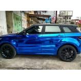 Car Wrapping Azul Cromo qualidade premium OEM automotivo- rolo 1.52m x 18m