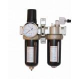 Filtro regulador lubrificador para ar comprimido