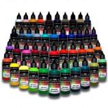 Série Artísticas Pro – 43 tintas acrílicas-PU para aerógrafo