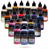 Mais sobre Série Camaleão – 20 tintas Stardust acrílicas-PU para aerógrafo