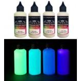 Mais sobre Série Glow – 4 tintas fosforescentes Acrílicas-PU para aerógrafo