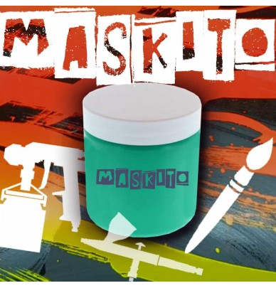 Máscara líquida MASKITO® para todas as técnicas de pintura