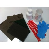 Kit de ferramentas para aplicação de resina epóxi