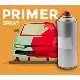 Primer em spray para carro e moto