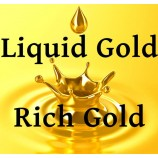 Líquido para dourar – Tinta dourada Ouro Rico
