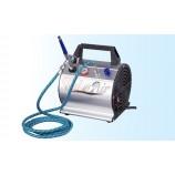 Kit Completo - Compressor, aerógrafo, tubo de ar