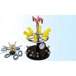 Multi-suporte para aerógrafos com alimentação de ar comprimido ajustável