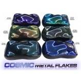 Flakes Cosmic transparentes – 5 cores