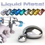 Tinta Metal líquida - efeito metal polido