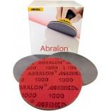 5 Discos abrasivos para polimento ABRALON 1000 até 4000