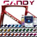 Kit completo de tinta Candy para bicicleta