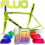 Kit completo de tinta fluorescente para bicicleta