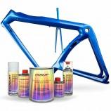 Kit complet de peinture nacrée pour vélo