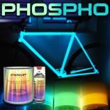 Kit completo de tinta fosforescente para bicicleta