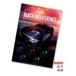 Poster Black interferencia