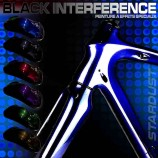kit de tinta bicicleta Black Interference – 6 cores