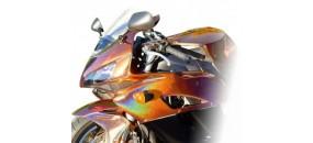 Tinta moto - kit completo de tintas com efeitos e cores originais