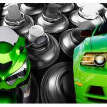 Spray de tinta para carro
