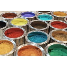 Pigmentos minerais, sintéticos e metálicos
