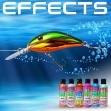 Os efeitos especiais e aditivos para pintar engodos