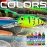 cores e tintas para engodos
