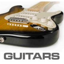 As tintas para as guitarras