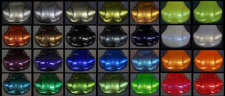Pearlescent Car Paintings Diamond Range
